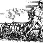 A RAKE WITH WHEELS