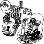 NECKLACE — LOCK