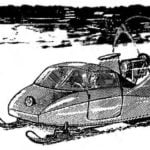 SNOWMOBILE WITH THE COMFORT OF A CAR