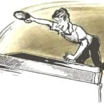 TENNIS TABLE ON WHEELS