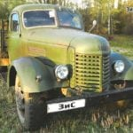 The FIRST post-war TRUCK ZIS-150 and ZIL-164