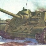 SELF-PROPELLED GUN SU-85