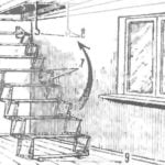 THE LADDER AT THE SUMMER HOUSE