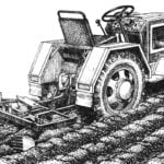 MINI TRACTOR: FROM SCHEME TO PLOWING