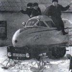 """HALF-TRACK"" SNOWMOBILE GMV-2"