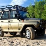 THE TRUNK ON UAZ