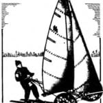 SKIING IN THE SAIL