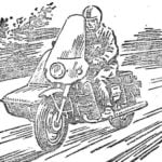 SUMMER MOTORCYCLE IN THE WINTER – SNOWMOBILE