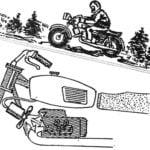 """""""FAN"""" FOR MOTORCYCLE"""