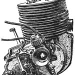 VALVE OF THE ENGINE FOR THE MAP