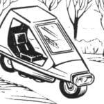 CAR ON TWO WHEELS