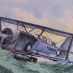 THE LAST BIPLANE OF THE CURTISS COMPANY