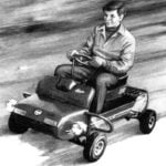 LITTLE MICRO-CAR FOR A NOVICE DRIVER