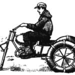MOTORCYCLE FOR PEROUTKA