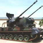 """ANTI-AIRCRAFT """"CHEETAH"""" FOR THE WEHRMACHT AND BUNDESWEHR"""