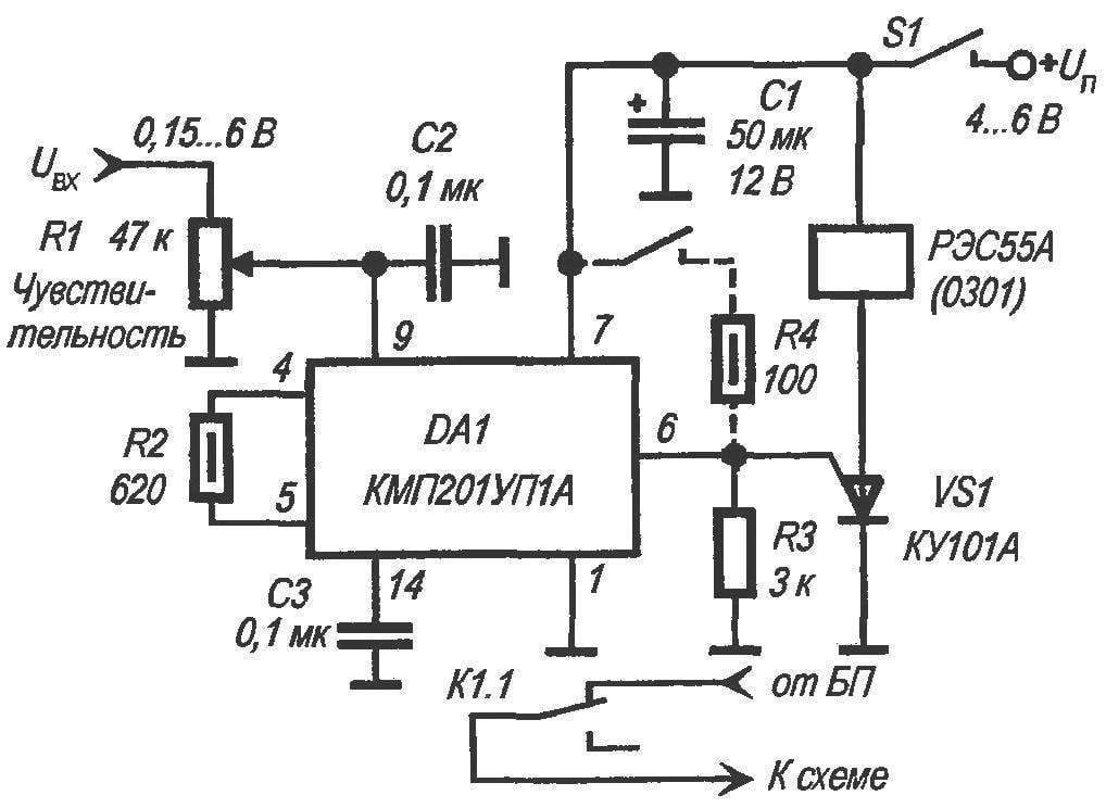 automatic protection of electronic circuits