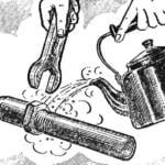 UNSCREWS… BOILING WATER