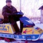 """SNOWMOBILE """"SAKMARA"""" FROM SCOOTER"""